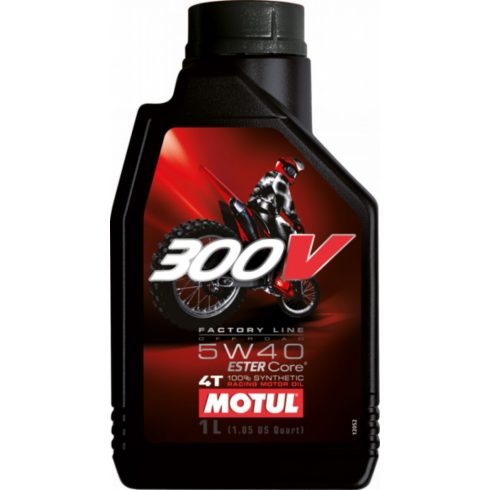 MOTUL 300V 4T OFF ROAD 5W-40 1L