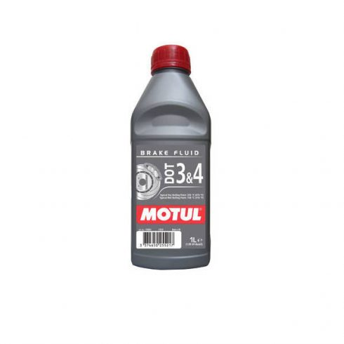 MOTUL DOT 3 & DOT 4 Brake Fluid 1L