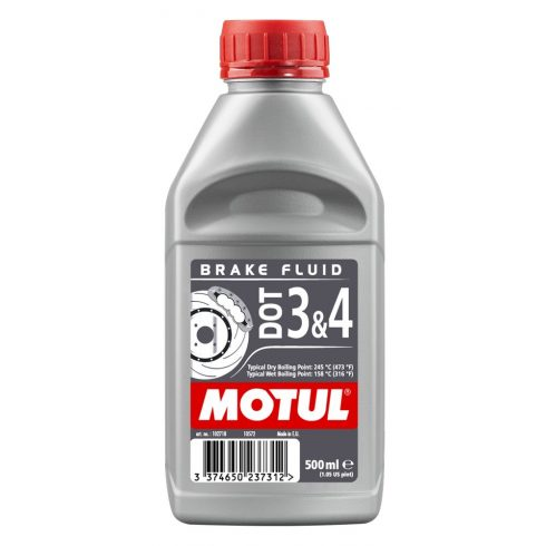MOTUL DOT 3 & DOT 4 Brake Fluid 0,25L