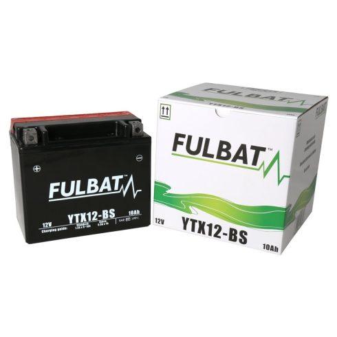 FULBAT AKKUMULÁTOR YTX12-BS (12V-10AH)
