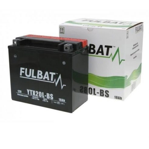 FULBAT AKKUMULÁTOR YTX20L-BS (12V-18AH)