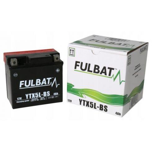 FULBAT AKKUMULÁTOR YTX5L-BS (12V-4AH)