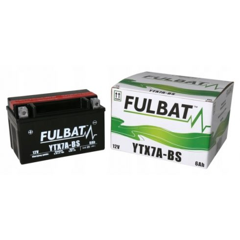 FULBAT AKKUMULÁTOR YTX7A-BS (12V-6AH)