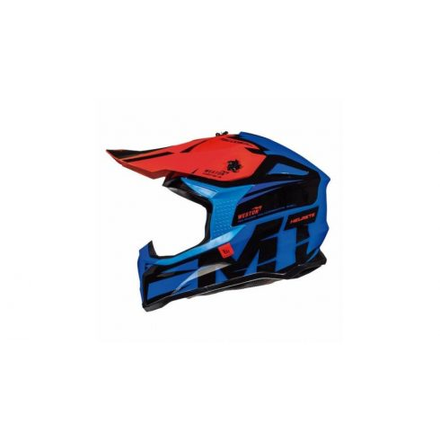 MT FALCON WESTON kék-piros-fekete