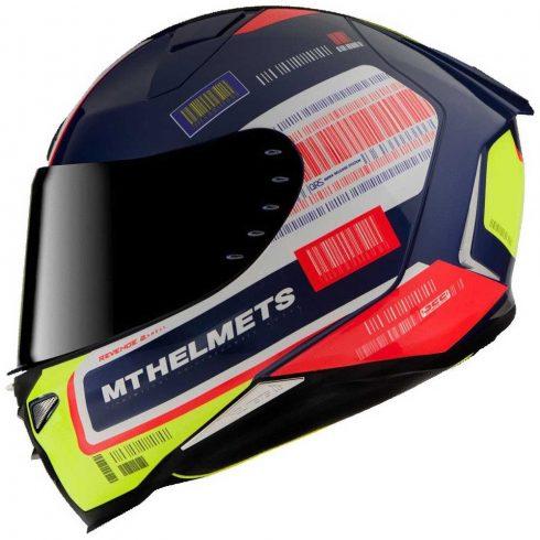 MT REVENGE 2 RS kék-fehér-neonsárga