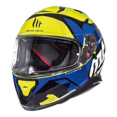 MT Thunder 3 SV Torn citromsárga-kék