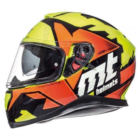 MT Thunder 3 SV Torn citromsárga-narancssárga