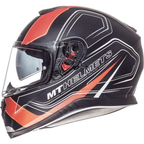 MT Thunder 3 SV Trace matt fekete-narancssárga