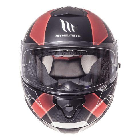 MT Thunder 3 SV Trace matt fekete-piros