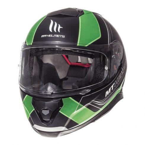 MT Thunder 3 SV Trace matt fekete-zöld